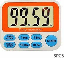 Kitchen Timers 3PCS Multifunctional Countdown