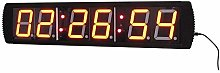 "Kitchen Timers 4"" 6 Digits LED Gym Timer"