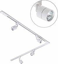 Kitchen Track Light Kit with Soho GU10 Spotlight