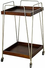 Kitchen Trolley, Utility Dining Bar Cart, Rolling
