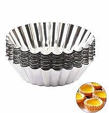 Kitchen Utensil Mold 10Pcs/Set Flower Egg Tart