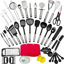 Kitchen Utensil Set, 43Pcs Cooking Utensils Made