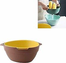 Kitchen utensils MMGZ 2 PCS Household Double-layer