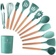 Kitchen Utensils Set 11Pcs Silicone Non-stick