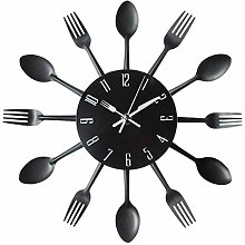 Kitchen Wall Clock, Timelike 3D Removable Modern