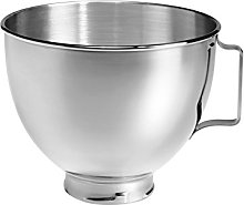 KitchenAid 5K45SBWH Polished Stainless Steel Bowl,