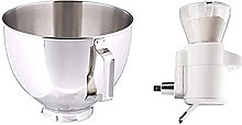 KitchenAid 5K45SBWH Polished Stainless Steel Bowl,