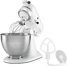 KitchenAid 5K45SSBWH Classic Stand Mixer - White