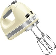 KitchenAid 5KHM7210BAC Hand Mixer - Cream