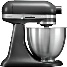 KitchenAid 5KSM3311XBBM Mini Food Stand Mixer -