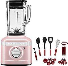 KitchenAid Artisan Silk Pink K400 Blender with