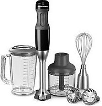 Kitchenaid Corded Hand Blender - Onyx Black