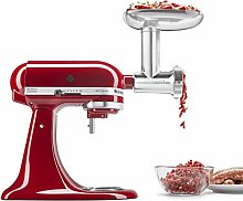 KitchenAid KSMMGA Metal Food Grinder Attachment,
