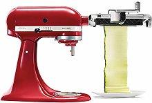 KitchenAid KSMSCA Electric Slicer, Food Cutter, Red