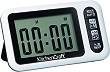 KitchenCraft 24 Hour Digital Kitchen Timer and