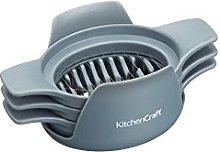 KitchenCraft 3-in-1 Plastic Food Slicer / Wedger /