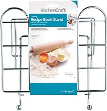 KitchenCraft Adjustable Folding Cookbook Stand /