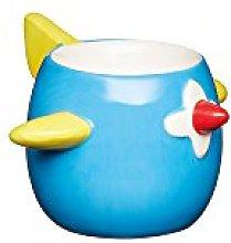 KitchenCraft Ceramic Aeroplane-Shaped Novelty Egg