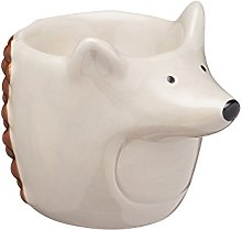 KitchenCraft Ceramic Hedgehog-Shaped Novelty Egg
