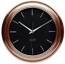 Kitchencraft Copper Finish Clock