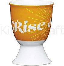 KitchenCraft Egg Cup Retro Rise Design Porcelain