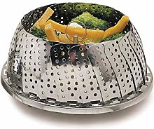 KitchenCraft Food Steamer Basket for Saucepans