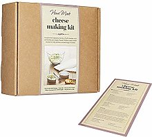 KitchenCraft Home Made Cheese Making Set, 4 Piece
