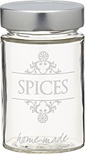 KitchenCraft Home Made Spice Jar with Labelling,