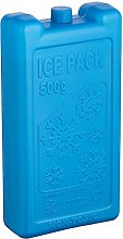 KitchenCraft Ice Block 500g of Plastic, Blue, 500 g