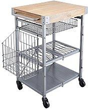 KitchenCraft Industrial Kitchen Folding Kitchen