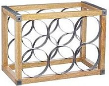 Kitchencraft Industrial Kitchen Wine Rack