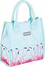 KitchenCraft Insulated Flamingo Lunch Bag - Tote