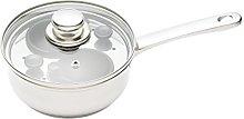 KitchenCraft KCCVPOACH2 2 Egg Poacher Pan in Gift