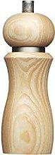 KitchenCraft MasterClass Modern Wooden Salt Mill,