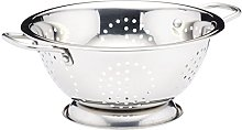 KitchenCraft Metal Colander with Feet and Handles,