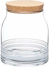 KitchenCraft Natural Elements Glass Food Storage