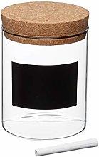 KitchenCraft Natural Elements Small Glass Storage