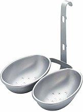 KitchenCraft Non-Stick Double Egg Poacher Cups -