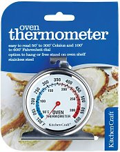 KitchenCraft Oven Thermometer Stainless Steel