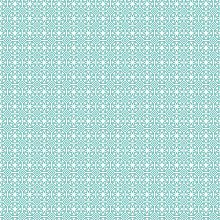 Kitchenwise PVC Tablecloth Geo Star Duck Egg 2