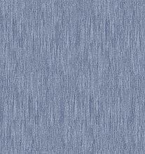 Kitchenwise PVC Tablecloth Slubbed Effect Blue 2