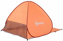 Kitt 2 Person Tent Sol 72 Outdoor Colour: Orange