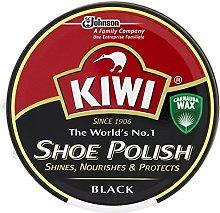 Kiwi Black Leather Shoe Polish 100Ml