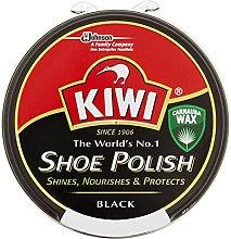 Kiwi Black Leather Shoe Polish 50Ml