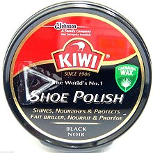 Kiwi Black Shoe Polish Shoe Wax Black Shoe Shine