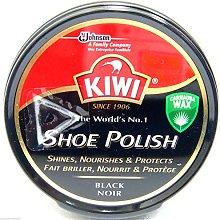 Kiwi Black Shoe Polish Shoe Wax Black Shoe Shine