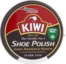 Kiwi Dark Tan Shoe Polish 50Ml x 4 Tins