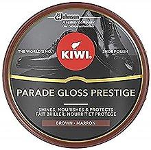 Kiwi Express Cream Shoe Polish Dark Tan OSC Kiwi