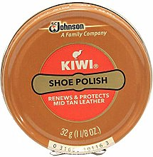 Kiwi Mid-Tan Shoe Polish, 1 - 1/8 Oz