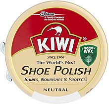 Kiwi Neutral Leather Shoe Polish 50Ml